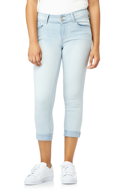 InstaSoft™ Ultra Fit Skinny Crop Jeans In Reya