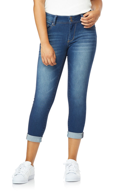 InstaSoft™ Ultra Fit Skinny Crop Jeans In Harper