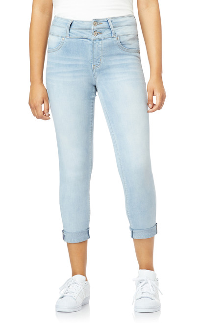 InstaSoft™ Sassy High Waisted Skinny Crop Jeans In Beverly