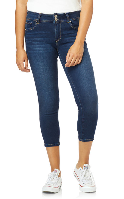 InstaSoft™ Ultra Fit Skinny Crop Jeans In Riverton