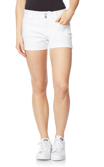 InstaSoft Ultra Fit Shorts In Bright White