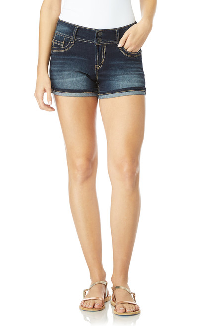 InstaStretch™ Luscious Curvy Shorty Shorts In Betsy