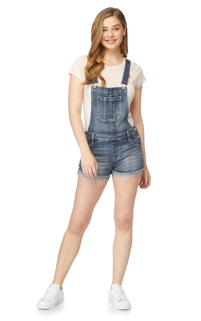 Juniors and Plus Size InstaVintage™ Denim Shortall In Thea