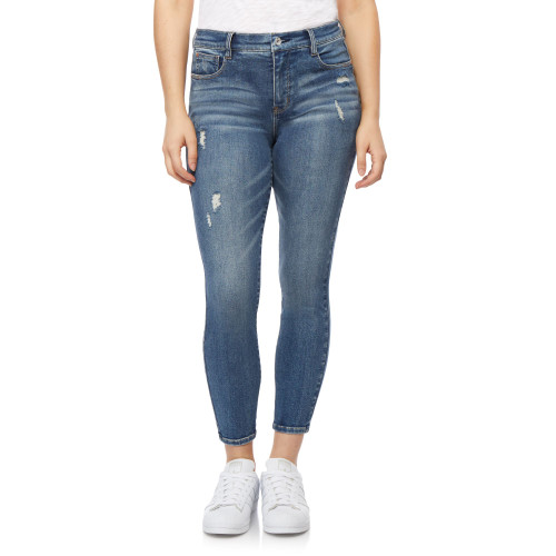 High Rise Fearless Curvy Ankle Jeans In Lark