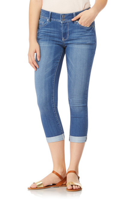 Plus and Juniors InstaSoft™ Ultra Fit Skinny Crop Jeans In Florence