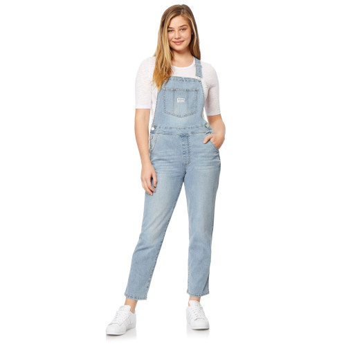 InstaVintage™ Loose Fit Denim Overalls In Albury