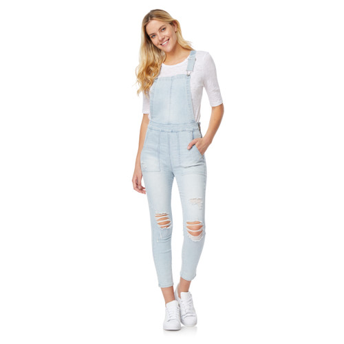 High-Rise InstaVintage™ Ankle Overalls In Connie