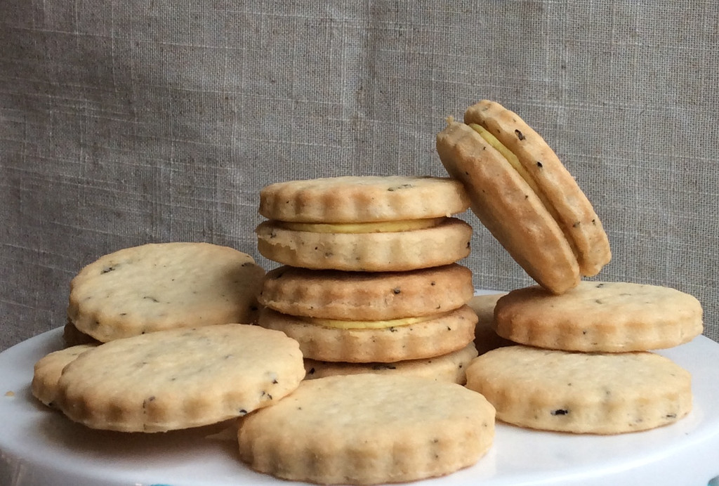 Gluten-Free Earl Gray Lemon Cookies