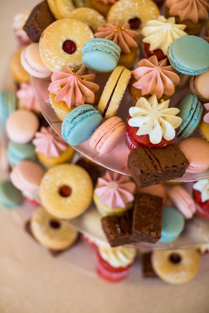 Gluten-Free Assorted Wedding Desserts