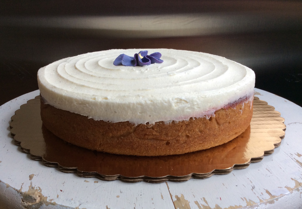 8 in x 8 in Gluten-Free Too Late Cake