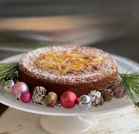 Gluten-Free Gingerbread Coffee Cake