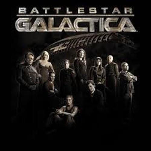 Galactica Cast w/Ship