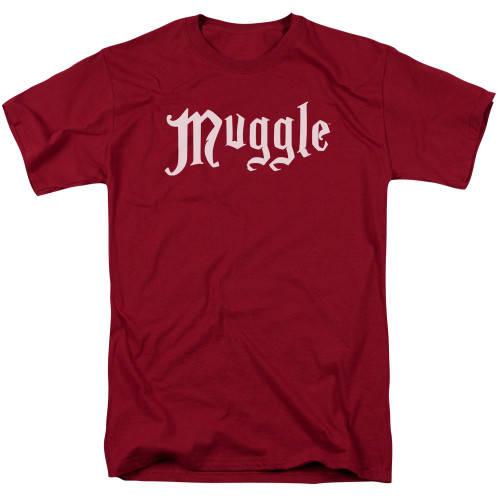 Muggle: White on Red