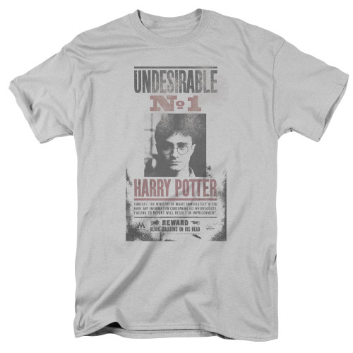 "#1 Undesirable: ""Distressed"" on gray"