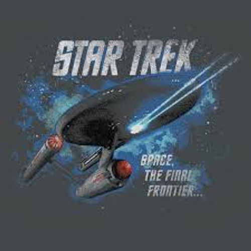 1701 Enterprise Flight Gray