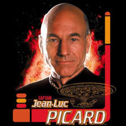 STTNG Picard Portrait