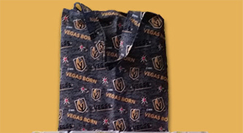 VGK Tote Bag - Black, Gold