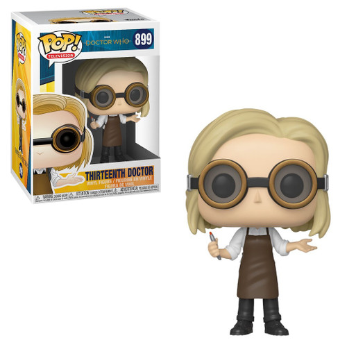 Dr. Who 13TH DOCTOR w/Goggles POP!