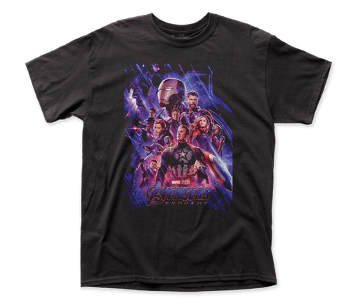 Avenger Endgame Blue Cast T-Shirt