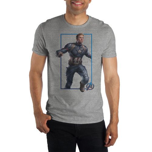 MCU Captain America Earnest Profile T-Shirt