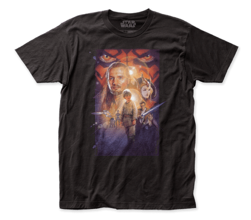 Star Wars The Phantom Menace Poster T-Shirt