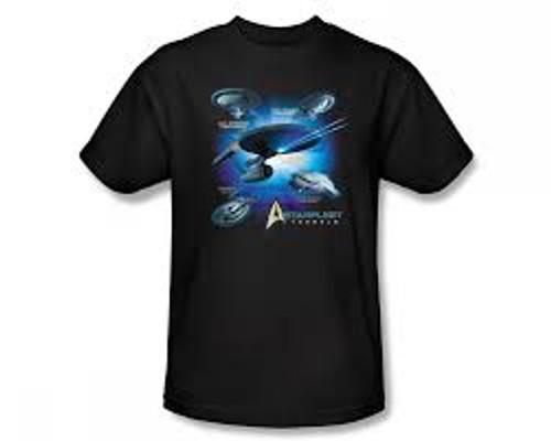 Star Trek Many Ships T-Shirt