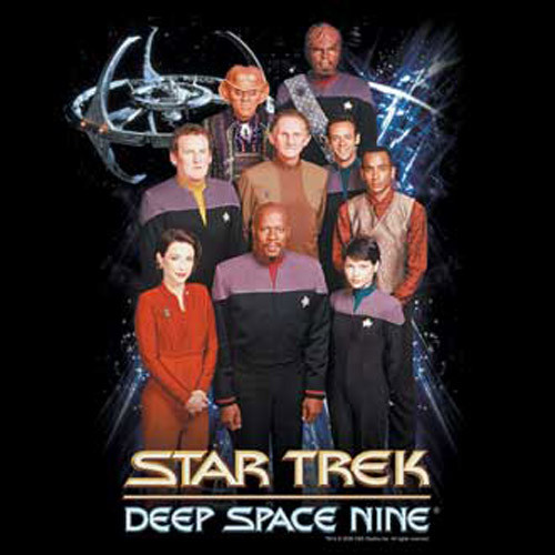 Star Trek DS9 Cast w/Ezri T-Shirt