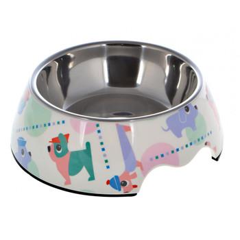 Melamine Round Bowl Sets,Dog Pattern M:17.5 * 6.5Cms 350/Ml11.8oz
