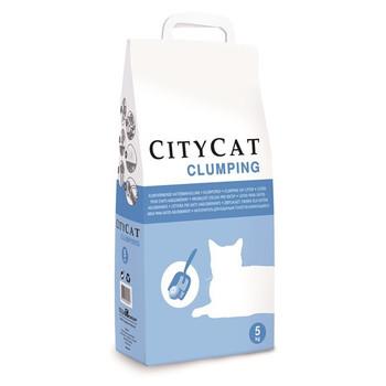 Sanicat's line of City Cat Clumping granules of bentonite, best price friendly cat litter