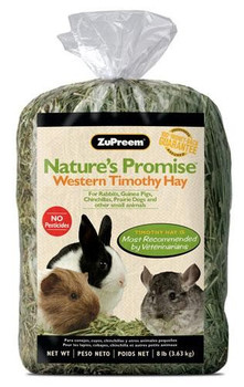 Pesticide-free, long-strand fiber & low-protein hay for every day feeding. Most premium Timothy hay grown in the United States (Top 5%)