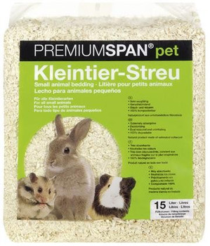 Quality wood shavings produced in Germany. Ideal bedding for rodents, ferrets and reptiles