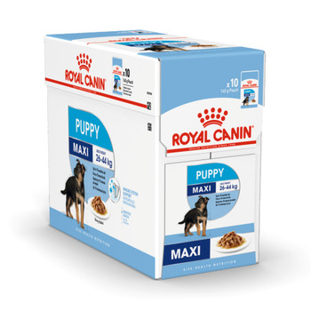 Immune system support  Helps support your puppy's natural defences thanks particularly to a complex of antioxidants including vitamin E.    Digestive Health Supports digestive health and balance of intestinal flora.  Long growth - moderate energy Meets the moderate energy needs of large breed puppies.