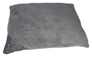 Size: Large  Cozy and warm lambswool pillow bed  Provides a great cuddle spot for the dog  The dog will think he has a couch of his own  Small(Cm) - 74 x 107