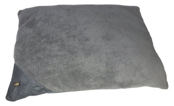Size: Medium  Cozy and warm lambswool pillow bed  Provides a great cuddle spot for the dog  The dog will think he has a couch of his own  Small(Cm) - 69 x 91