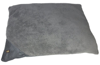 Size: Small  Cozy and warm lambswool pillow bed  Provides a great cuddle spot for the dog  The dog will think he has a couch of his own  Small(Cm) - 58 x 74