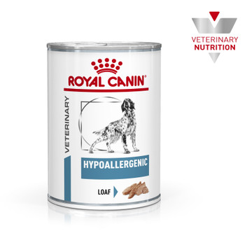VET HEALTH NUTRITION CANINE HYPOALLERGENIC (WET FOOD - CANS)12x400gx