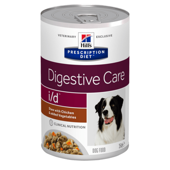 Prescription Diet I/D Canine Stew With Chicken & Added Vegetables (12x354g)