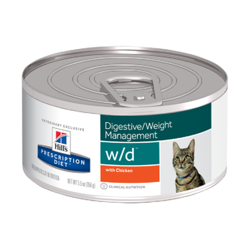 Prescription Diet W/D Feline (156 G X 24)