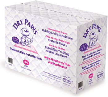 Dry Paws Training and Floor Protection Pads,
