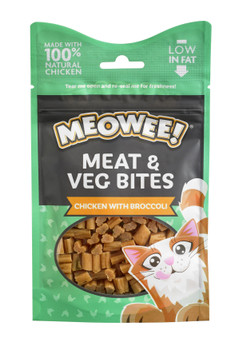 MEOWEE MEAT, VEG & CHICKEN WITH