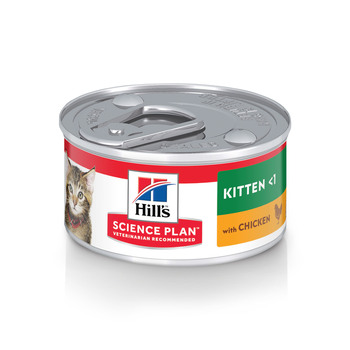 Science Plan Kitten Food With Chicken (82g Can X 24)