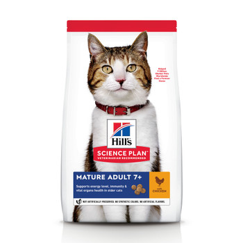 Science Plan Mature Adult 7+ Cat Food With Chicken (3kg)