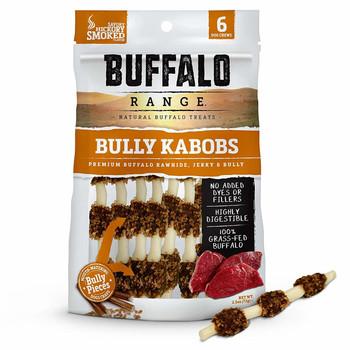 Buffalo Range Hickory Smoked Bully Kabobs