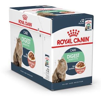 Higly digestible wet diet specially formulated for sensitive cats. Helps promote a healthy urinary system.