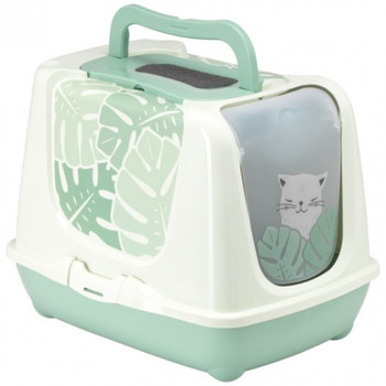 Moderna Trendy Cat Litter Box Jumbo-Eden Green[C245]