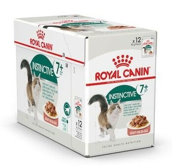 High quality wet food diet specially designed for cats over 7 years old. Contains an exclusive complex of antioxidants to support the vitality of older cats.
