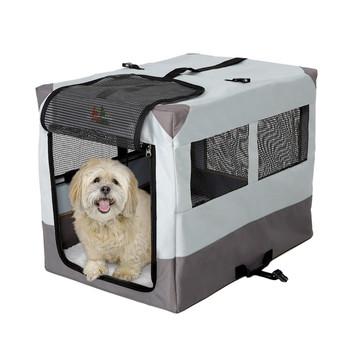 Canine Camper Sportable Tent Dog Crate, 30″ L X 21.75″ W X 24″ H