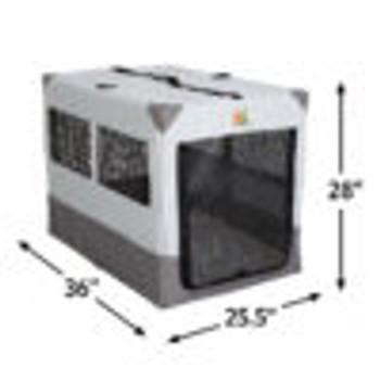 Canine Camper Sportable Tent Dog Crate, 36″ L X 25.5″ W X 28″ H