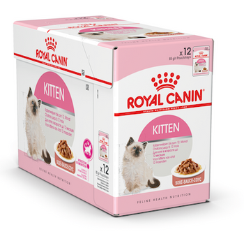 Kitten Instinctive GRAVY is formulated to match the optimal nutritional profile instinctively preferred by 2nd age kittens (2-12 Months of age) and gestating queens.  Small chunks in gravy, for easier chewing. Helps support natural defenses.