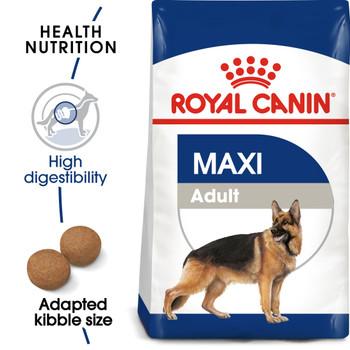 SIZE HEALTH NUTRITION MAXI ADULT 15 KG